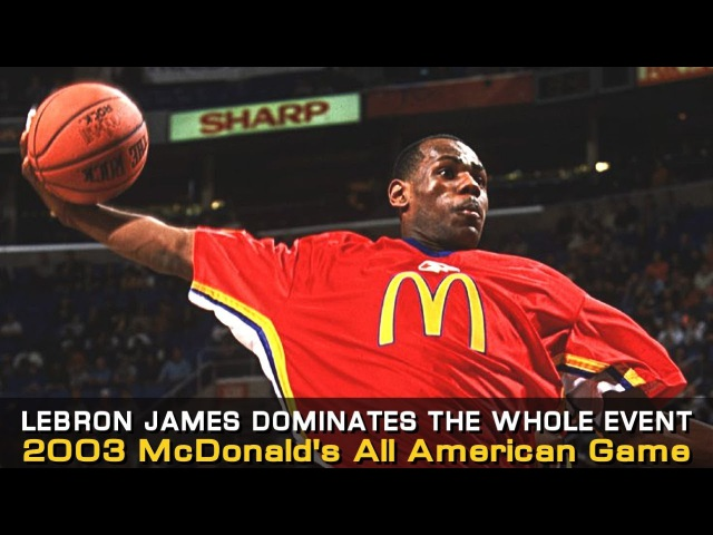 LeBron James McDonald's All American Game Highlights In 2003!