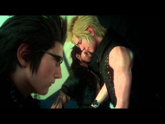 Final Fantasy XV Episode Duscae - Ignis, Gladiolus, Prompto Noctis