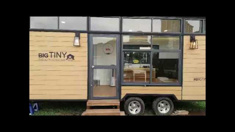 Quick look around the Big Tiny house prototype