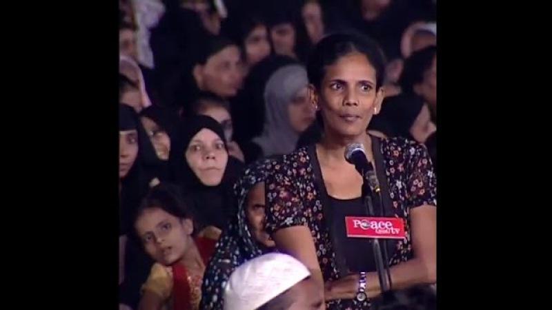 Christian sister asked why Muslim changes after Ramadan ~Ask Dr Zakir Naik [Urdu /Hindi]