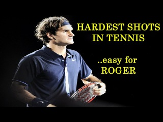 Top 10 Most Difficult Shots in Tennis peRFected by Roger Federer (HD)