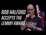 Rob Halford Accepts the 'Lemmy' Lifetime Achievement Award - 2017 Loudwire Music Awards