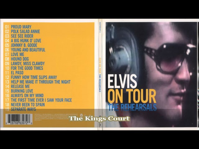 Elvis Presley - On Tour - The Rehearsals - Number 42 In The FTD Collection