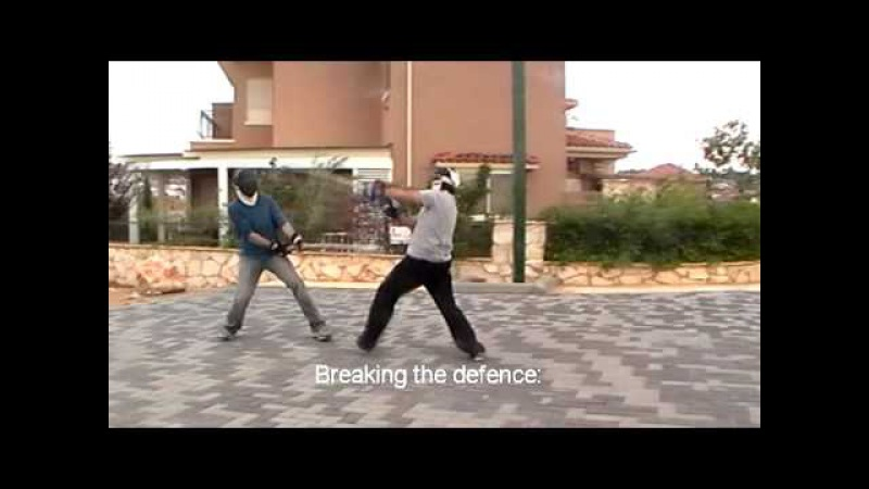 Fighting with medium staff Jo , Tapado - full contact. A.C.T. - Armed Combat Tactics