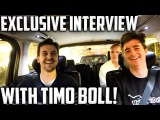 T2 Ambush #1  Timo Boll Exclusive Car interview With TableTennisDaily!