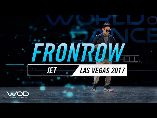Justin Jet Valles   FrontRow   World of Dance Las Vegas 2017  WODLV17
