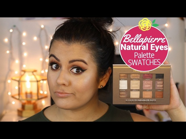 BELLAPIERRE NATURAL EYES PALETTE SWATCHES REVIEW | LIFEMEETSTEPH