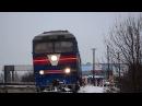 ТЭП70 0060 с поездом №608 сообщением Бердянск пологи Запорожье 1 и приветливый машин