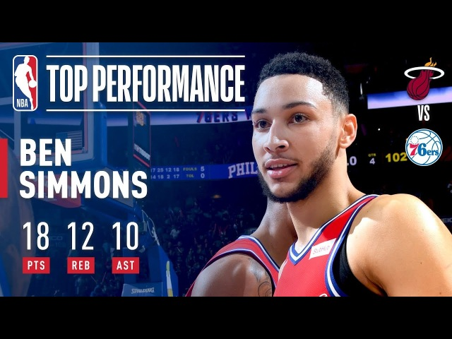 Ben Simmons Leads the 76ers' Big Comeback, Gets a Triple-Double | February 14, 2018 NBANews NBA 76ers BenSimmons