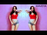 Hottest WAVEYA sexy dance 웨이브야