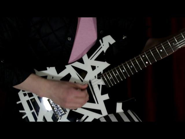 Van Halen - Hot For Teacher (guitar cover)