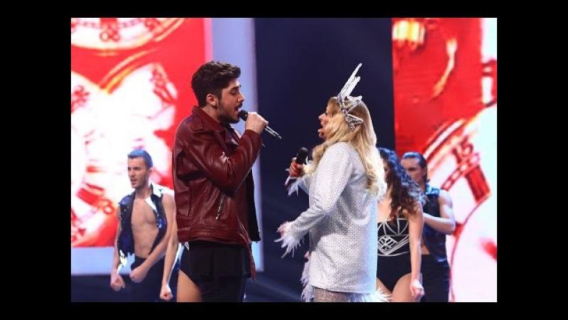 """Bon Jovi - """"It's my life"""". Vezi interpretarea lui Alex Mladin Delia din marea finală X Factor!"""