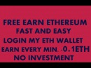 FREE EARN ETHEREUM FAST AND EASY EARN WILL START EVERY MIN EARN 0 1 ETH MIningGurus