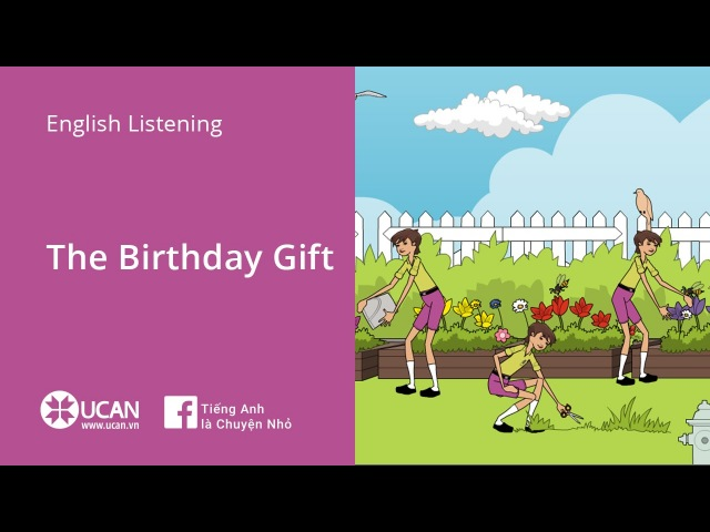 Learn English Listening   Elementary - Lesson 3. The Birthday Gift