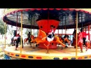 Outdoor Playground Amusement Park for Kids Huge Awesome Park With Riding Horses Game Toys.