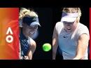Former champions go head to head Kerber v Sharapova | Australian Open 2018