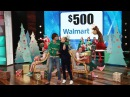 Ellen and Nacho Figueras Play Stack Your Packages