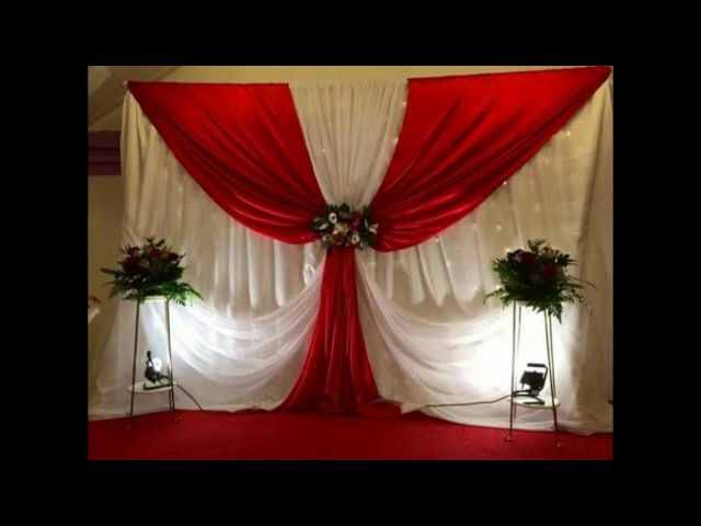 Decoracion de eventos cortinas♥