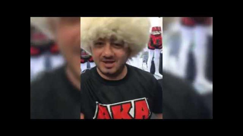 НОВОЕ ВИДЕО Михаил Галустян готовится к спаррингу и терпит не удачу