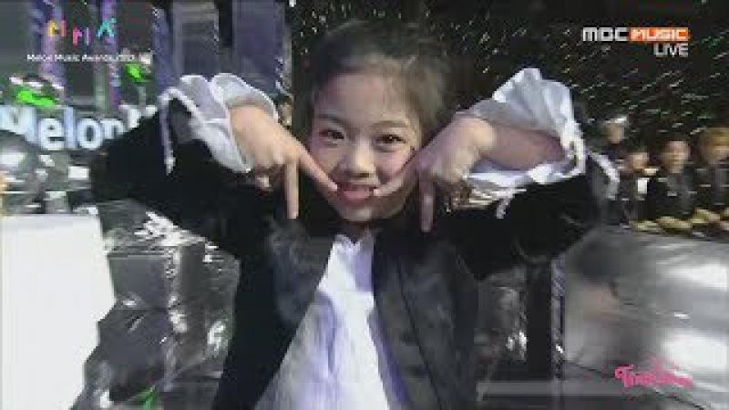 멜론뮤직어워드 Melon Music Award 여자남자 댄스상 후보 소개하는 나하은 NaHaEun ☆트와이 49828
