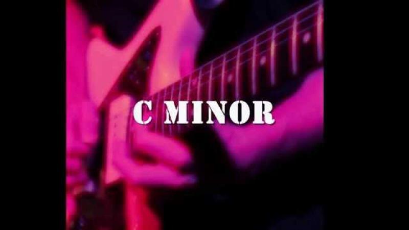 C Minor Groove Backing Track - Aeolian Mode