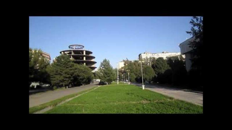Кыргызстан,Бишкек,Филармония,Национальный Университет и лучший гюро лагман