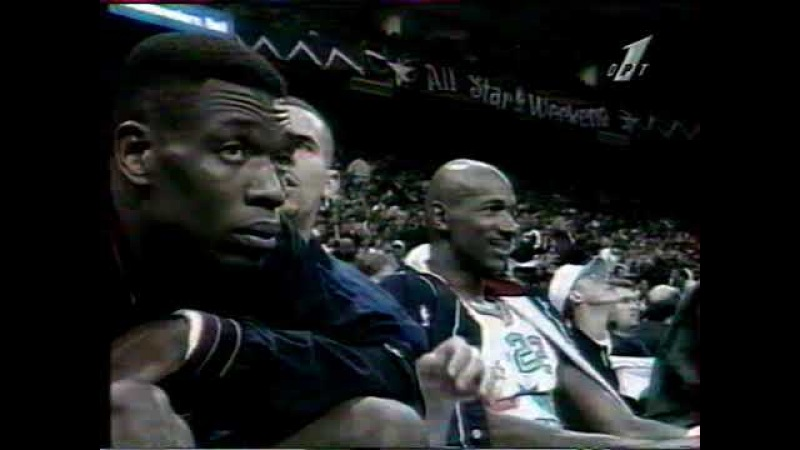 10-11.02.1996 NBA All Star Weekend East - West 129:118