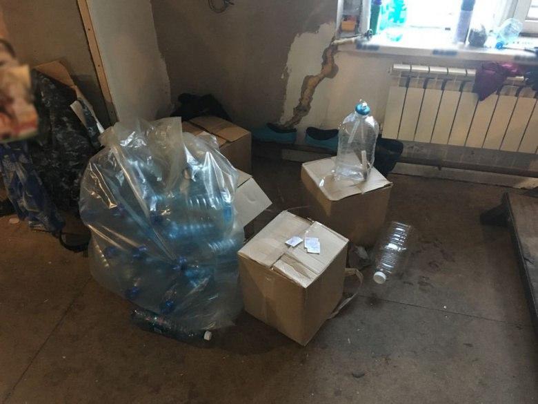 Томская полиция изъяла из оборота свыше 2 тыс литров контрафактного алкоголя