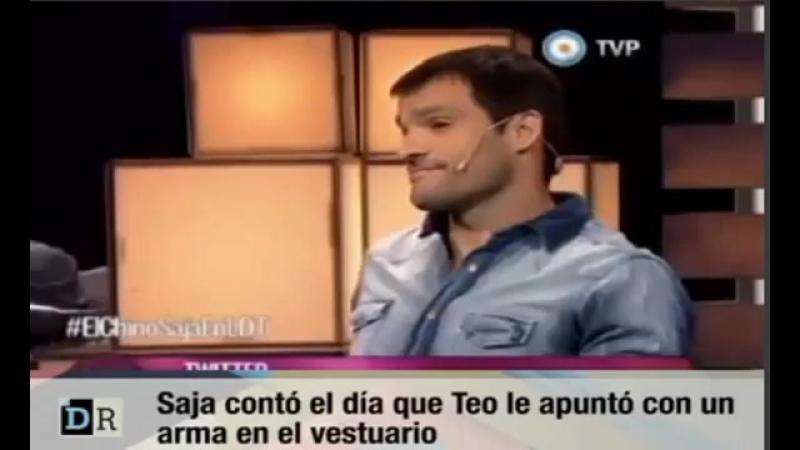 Saja recorda o dia em que Teo Gutiérrez lhe apontou uma arma