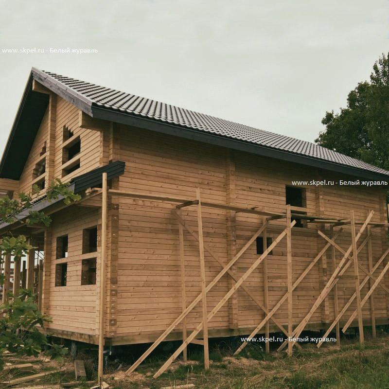 Дом из бруса в Оранжерейке