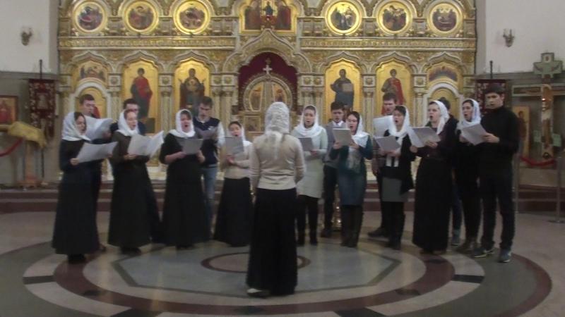 Хор храма Святого Георгия Победоносца участник конкурса под №10