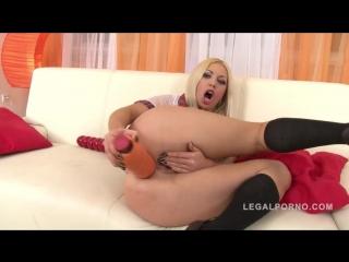 Isabella Clark [фистинг, анал, fisting, solo, brutal dildo, big toys, extreme insertion, anal, gape]