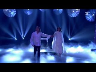 24.05.2018 - финал germanys next topmodel. появление хайди под песню easy (instrumental)