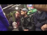 Упоротые флористы и пальма в метро