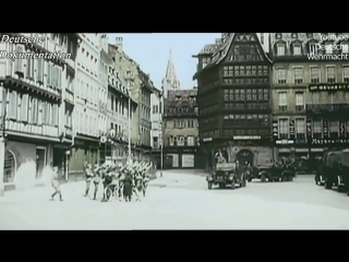 Wehrmacht Victory Parade in Paris 14.June 1940 - 22.June 1940 Compiegne
