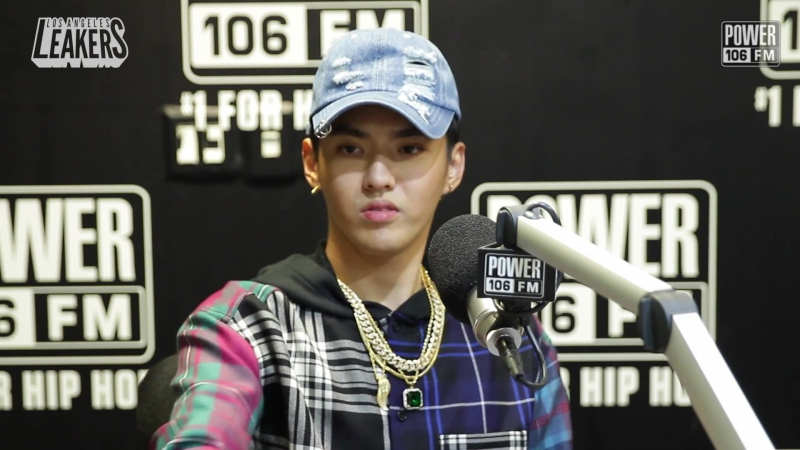 171026 Kris KrisWu WuYifan @ Power 106 Los Angeles