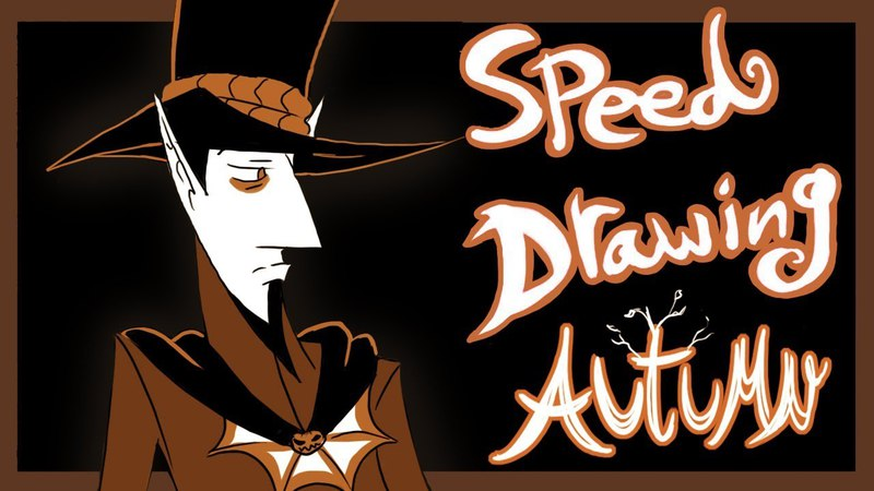 Speed Draw- A Vampire For All Seasons- Autumn