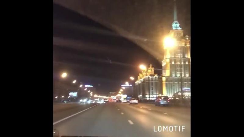 Ночная Москва ты прекрасна 😍