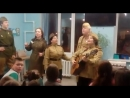 Детская больница-праздник День защитника Отечества! Смуглянка! Поет фронтовая арт бригада СОЛДАТЫ ПОБЕДЫ