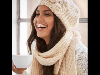Самая любимая вещь этой осени и зимы: шапки и шарфики