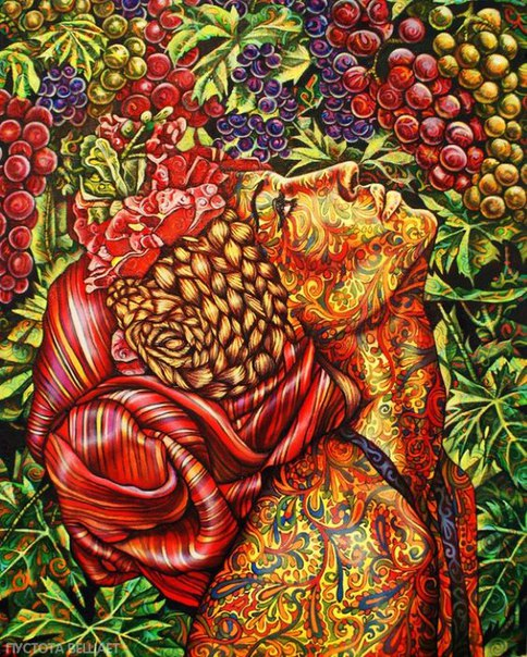 Стань самим собой, ведь в тебе есть частичка зерна Истины. Человек ест