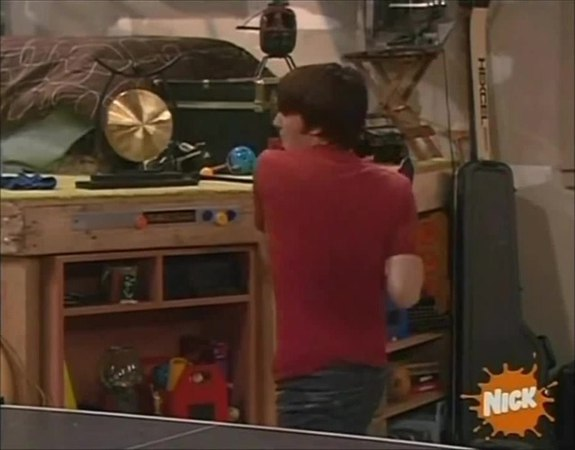 Drake and Josh Ping Pong Scene (HQ) · coub, коуб