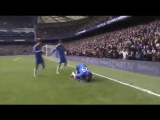 Demba Ba scored this goal for CFC vs Man Utd