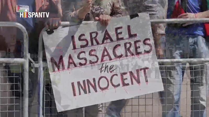 Británicos reciben a Netanyahu en Londres con protestas