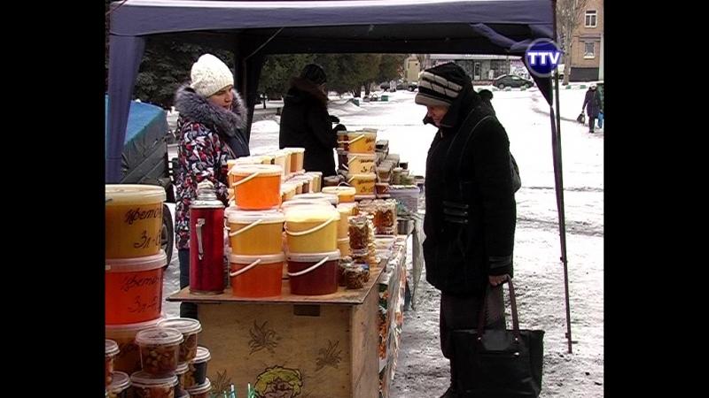 Ярмарка меда Пчелкино в Торезе