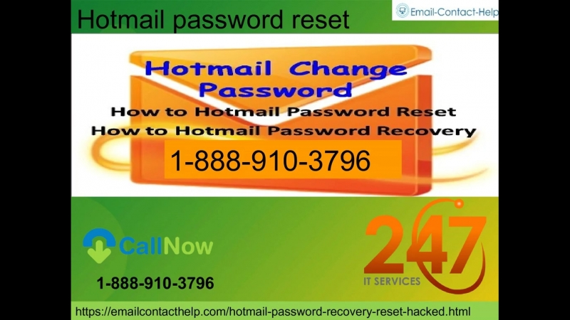 Need to join our Hotmail Password Reset benefit 1 888 910 3796 simply call us now