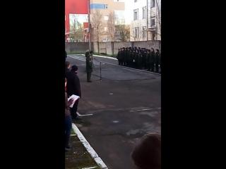 Осенний призыв в Архангельске