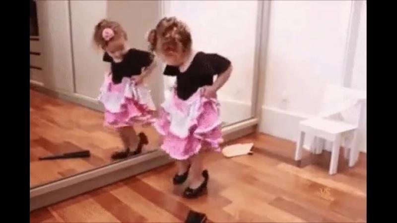 Я обязательно стану великой танцовщицей!