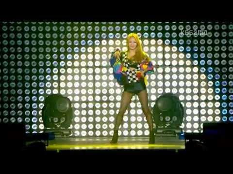 HyoYeon Dance (T.H.E Will.i.am) (Music Bank in Paris2012.02.18)