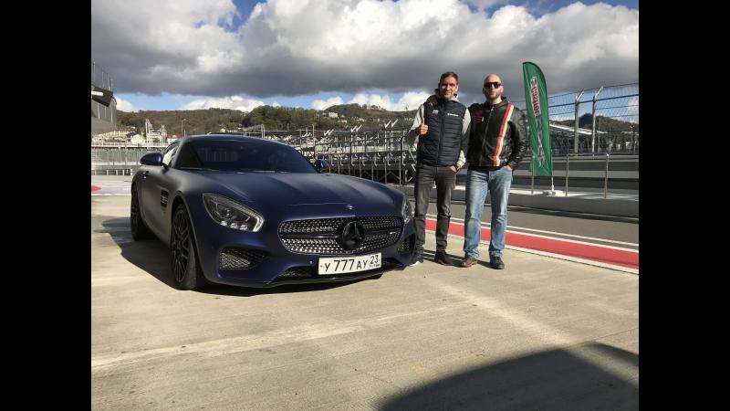 DT Test Drive — 950 л.с. Mercedes-AMG GT S с пилотом SMP Racing Виталием Петровым